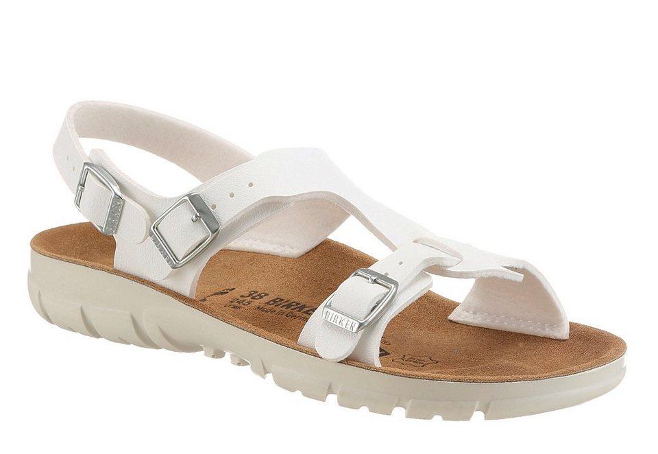 Birkenstock »SARAGOSSA« Sandale rutschhemmend in weiß