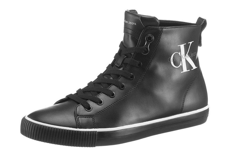 Calvin Klein »Arthur Smooth« Sneaker mit Logo Druck in schwarz