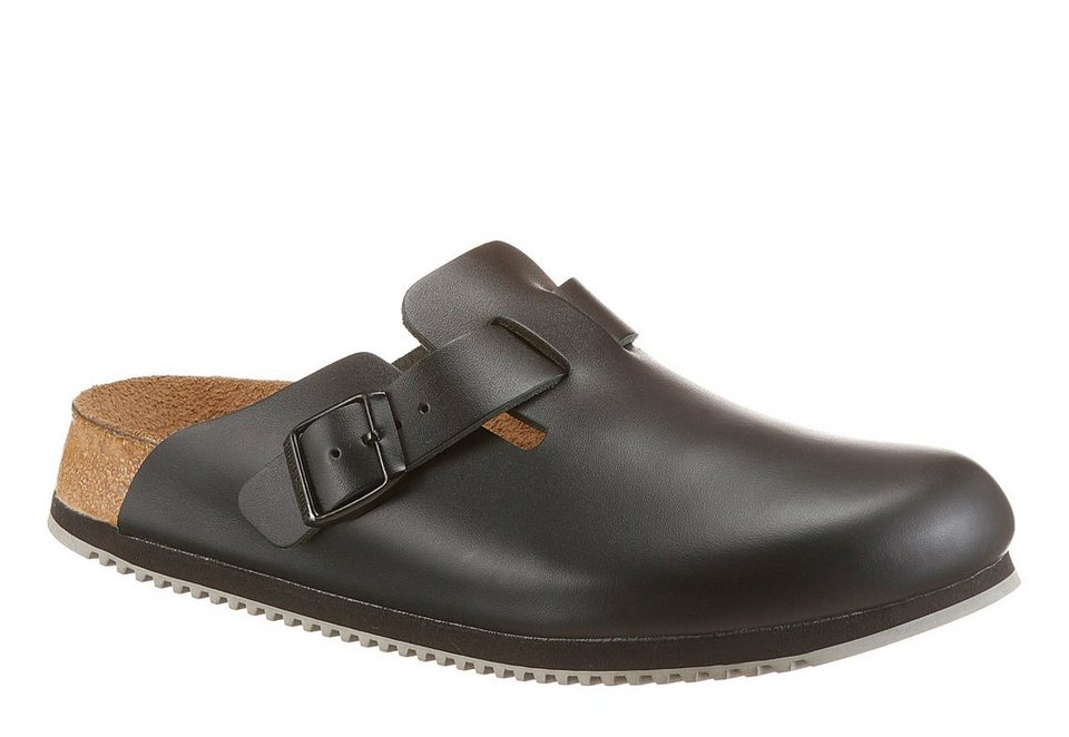 Birkenstock »BOSTON SL« Clog in schwarz