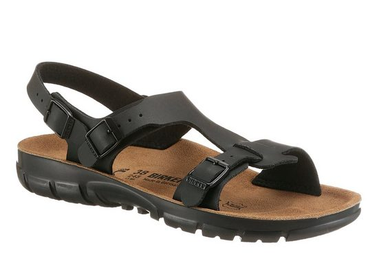 Birkenstock »SARAGOSSA« Sandale mit rutschhemmender, öl- und fettbeständiger Laufsohle