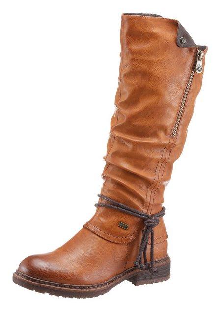 Rieker Weitschaftstiefel mit Tex-Ausstattung | Schuhe > Stiefel > Weitschaftstiefel | Rieker