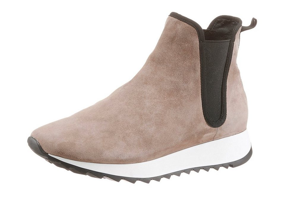 Cafe Noir Chelseaboots in taupe