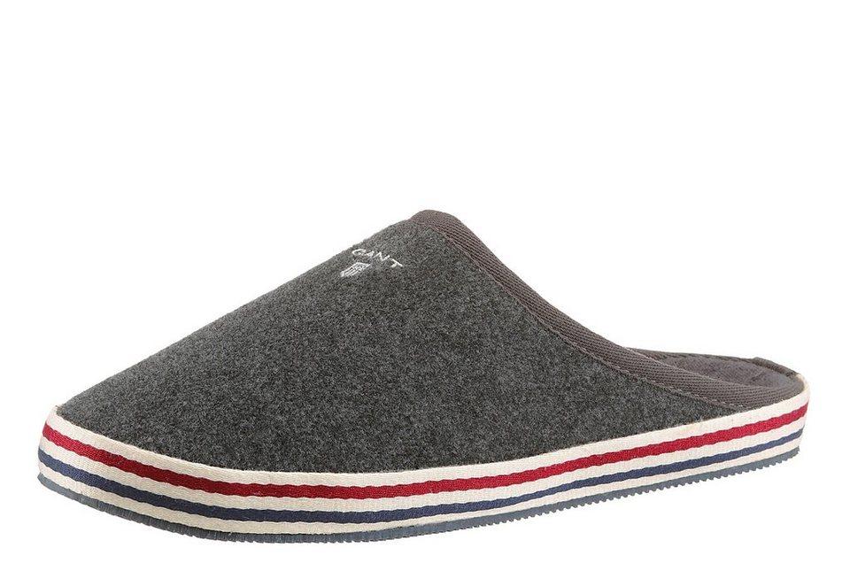 Gant Footwear »Chester« Hausschuh in dunkelgrau
