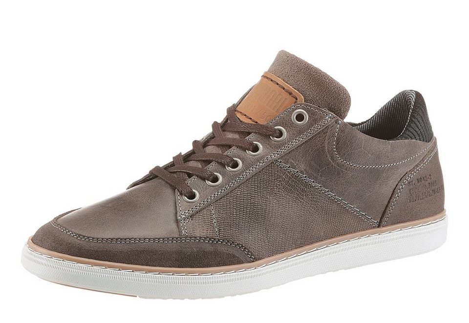 Bullboxer Sneaker im Used Look in grau-used