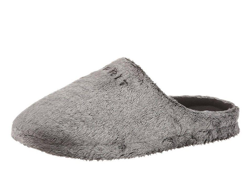 Esprit Pantoffel in hellgrau
