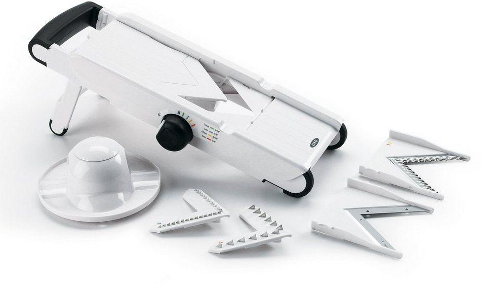 OXO Mandolinenschneider mit V-Klinge in weiß