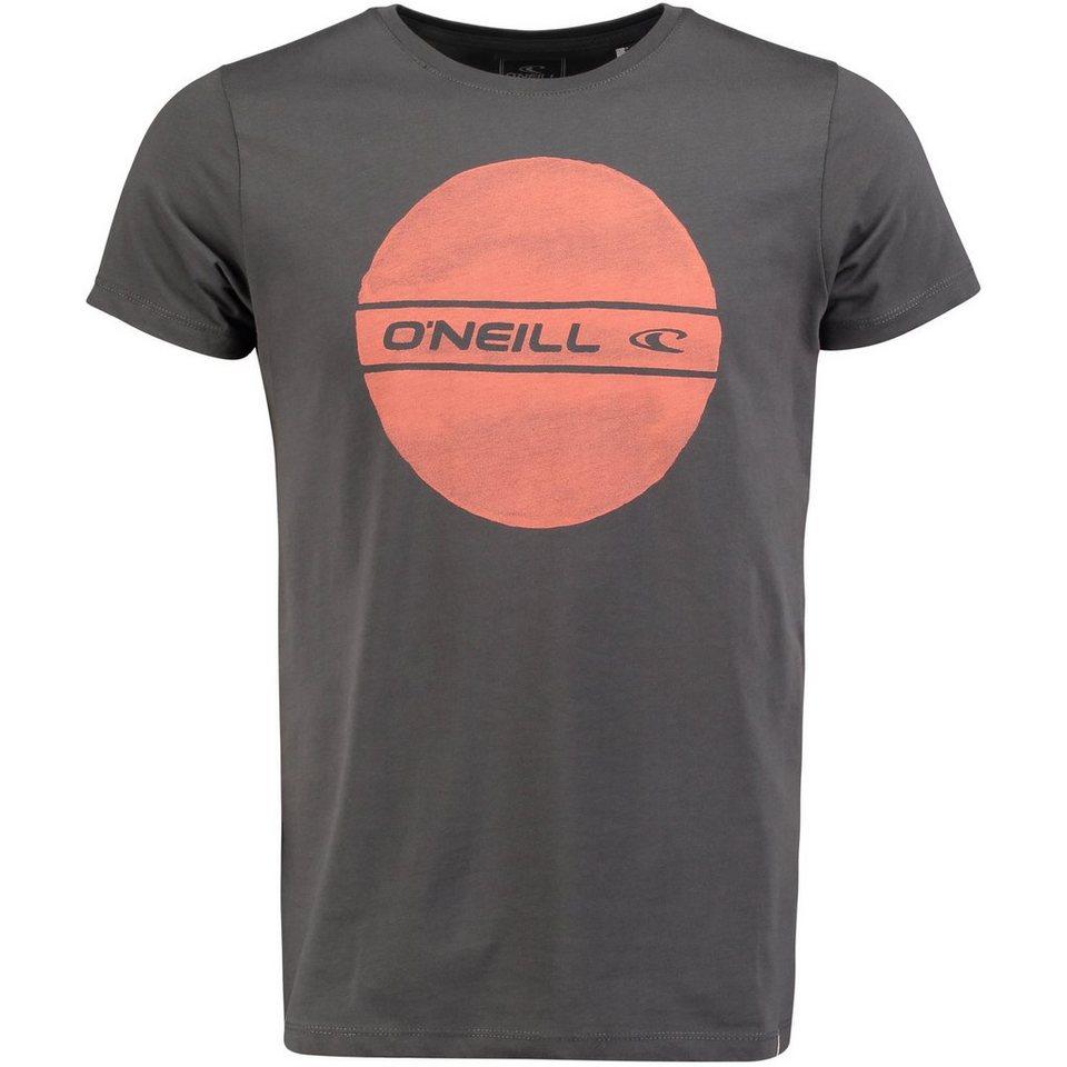 O'Neill T-Shirt kurzärmlig »Circle Logo« in Anthrazit