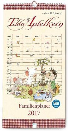 Kalender »Tilda Apfelkern. Familienplaner 2017«