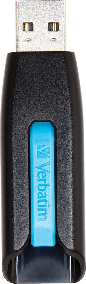 Verbatim USB 3.0 Stick 32GB, V3 Store n Go, blau in blue