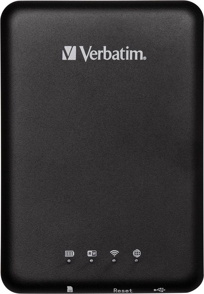 Verbatim MediaShare Player, WiFi, Akku-Pack in black