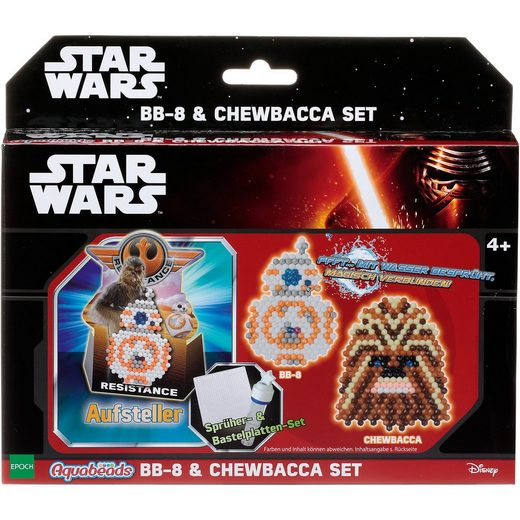 EPOCH Traumwiesen Aquabeads Star Wars BB-8 & Chewbacca Set