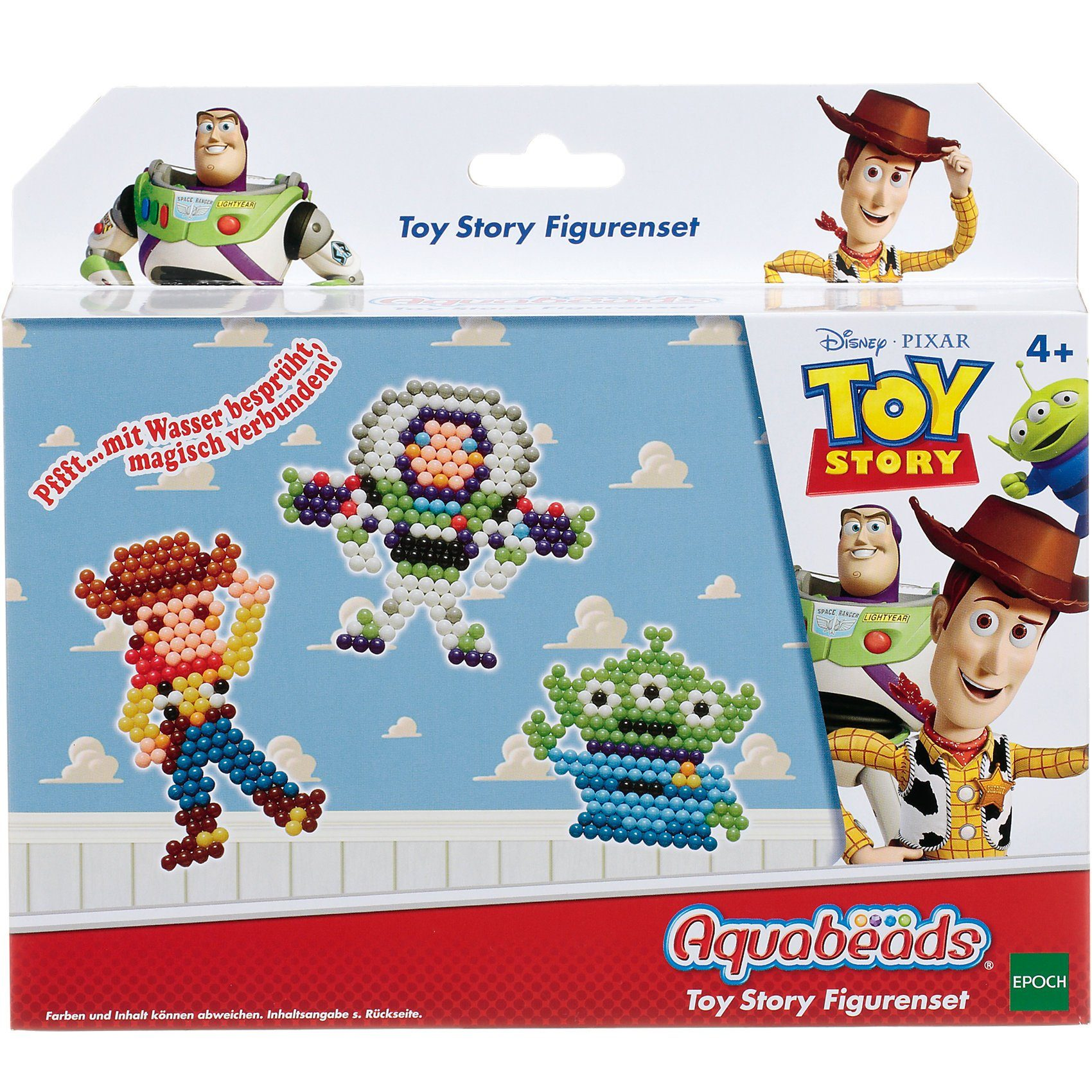Epoch Traumwiesen Aquabeads Toy Story Figurenset