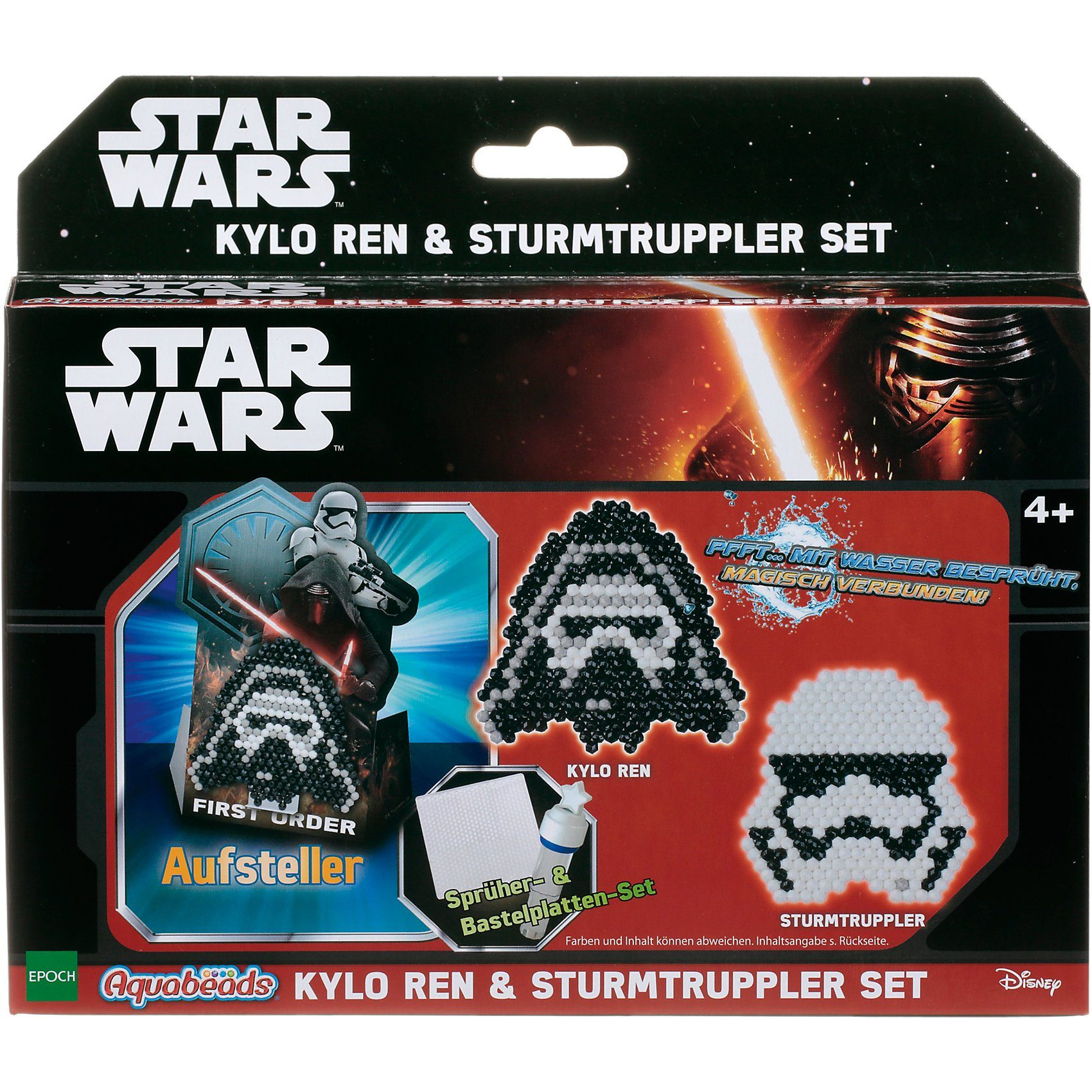 Epoch Traumwiesen Aquabeads Star Wars Kylo Ren & Sturmtruppler Set