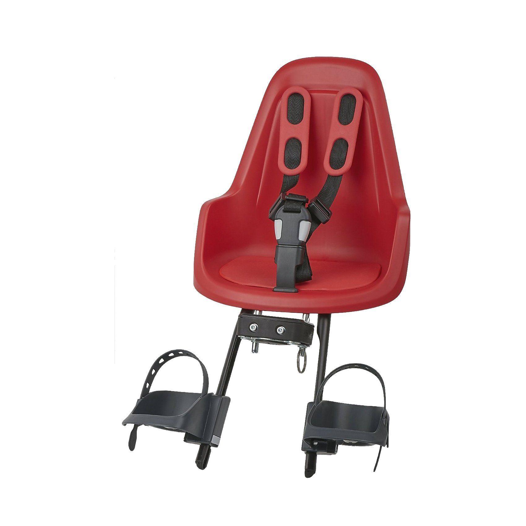 bobike Fahrrad-Sicherheitssitz Mini ONE, front, Strawberry Red