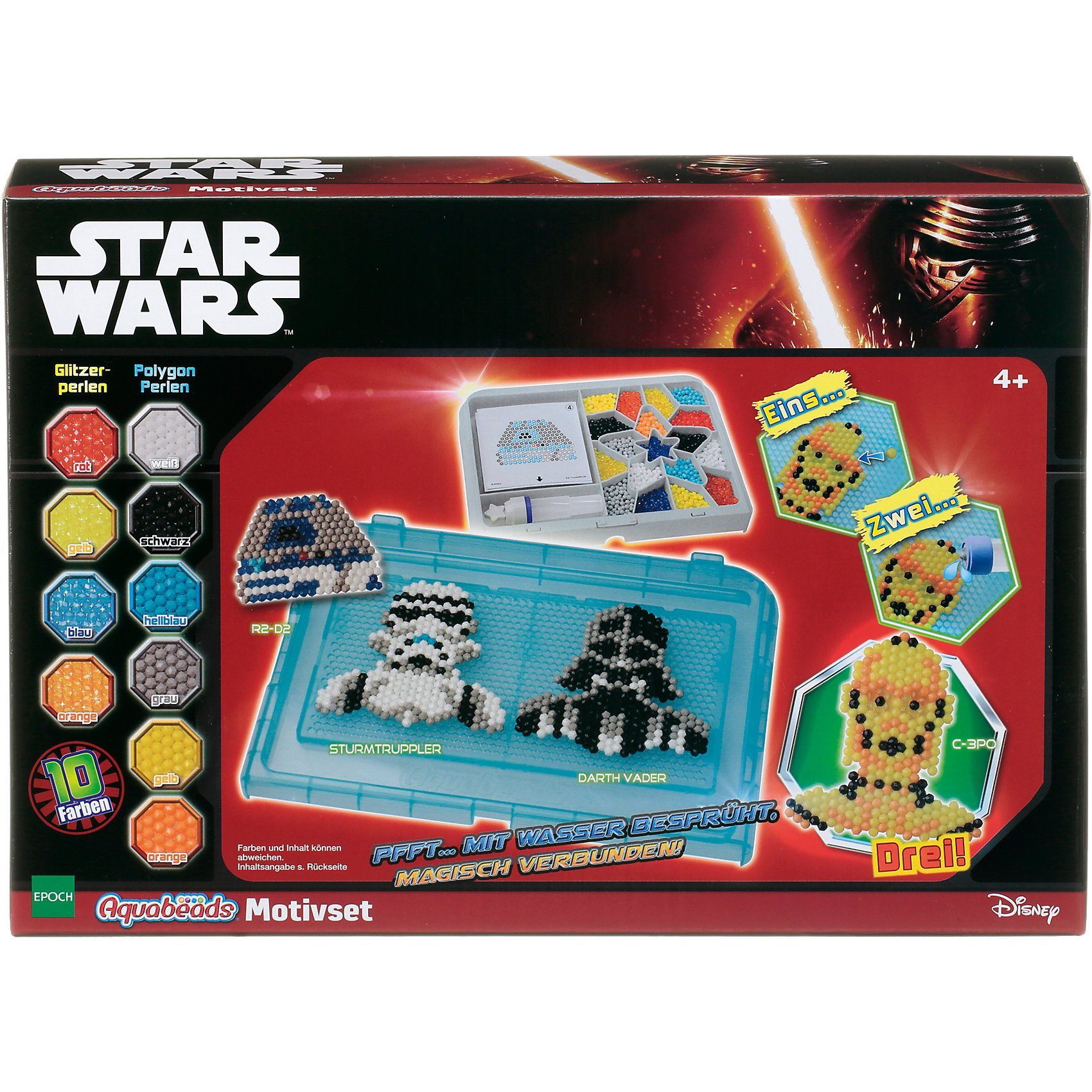 Epoch Traumwiesen Aquabeads Star Wars Motivset