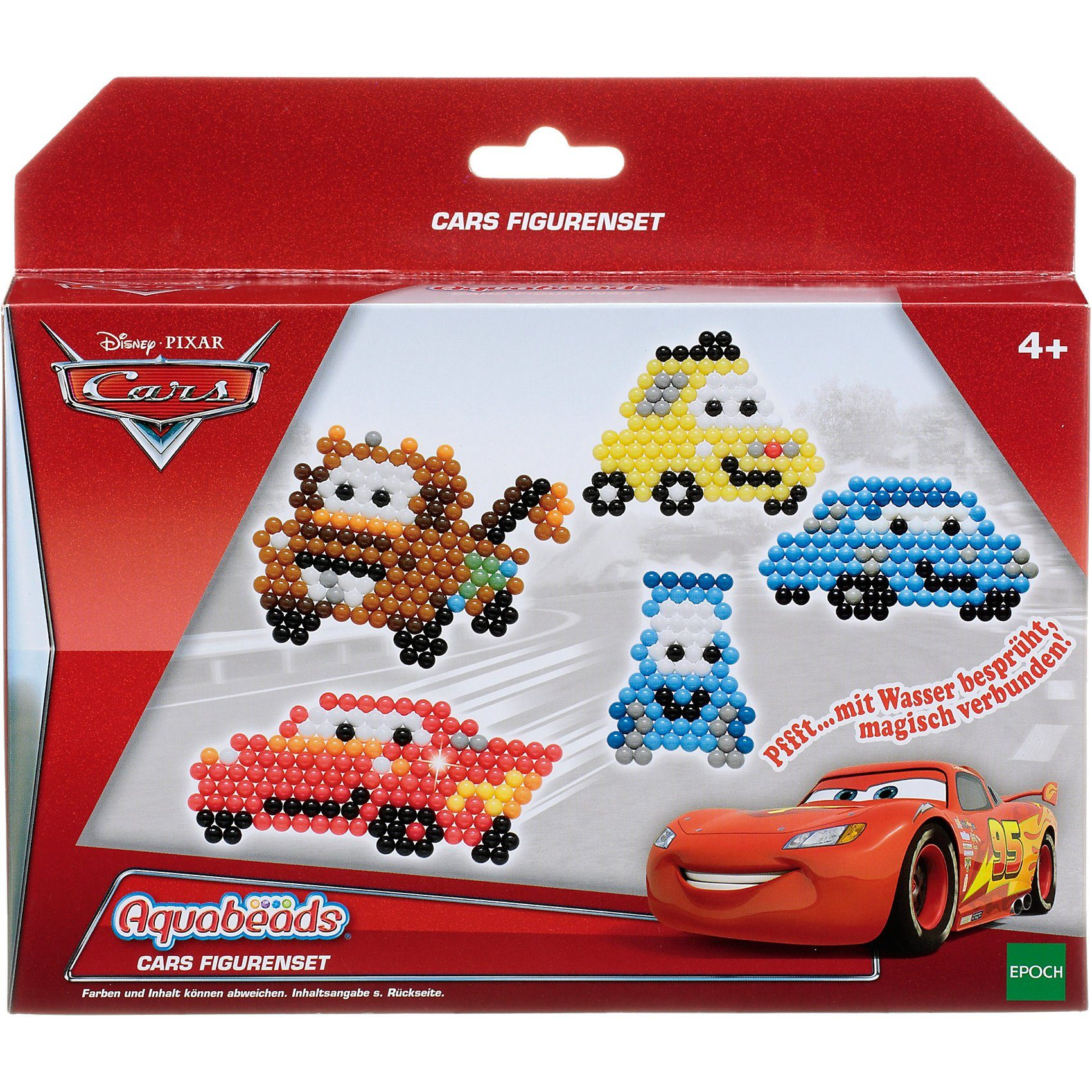 Epoch Traumwiesen Aquabeads Cars Figurenset