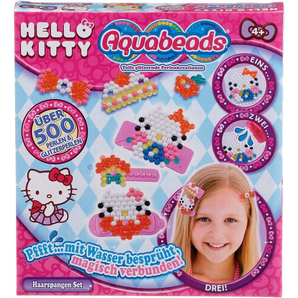 Epoch Traumwiesen Aquabeads Hello Kitty Haarspangen Set