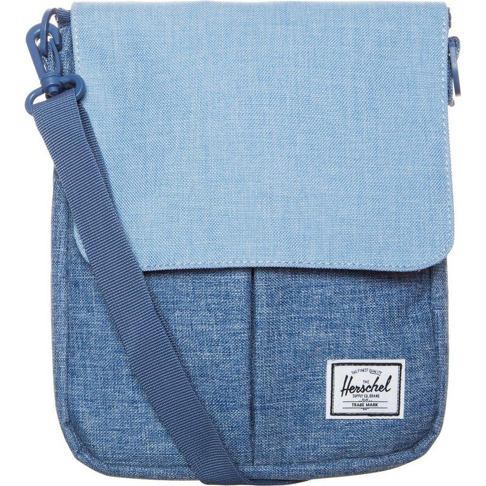 Herschel Pender Tablet Tasche in hellblau / blau