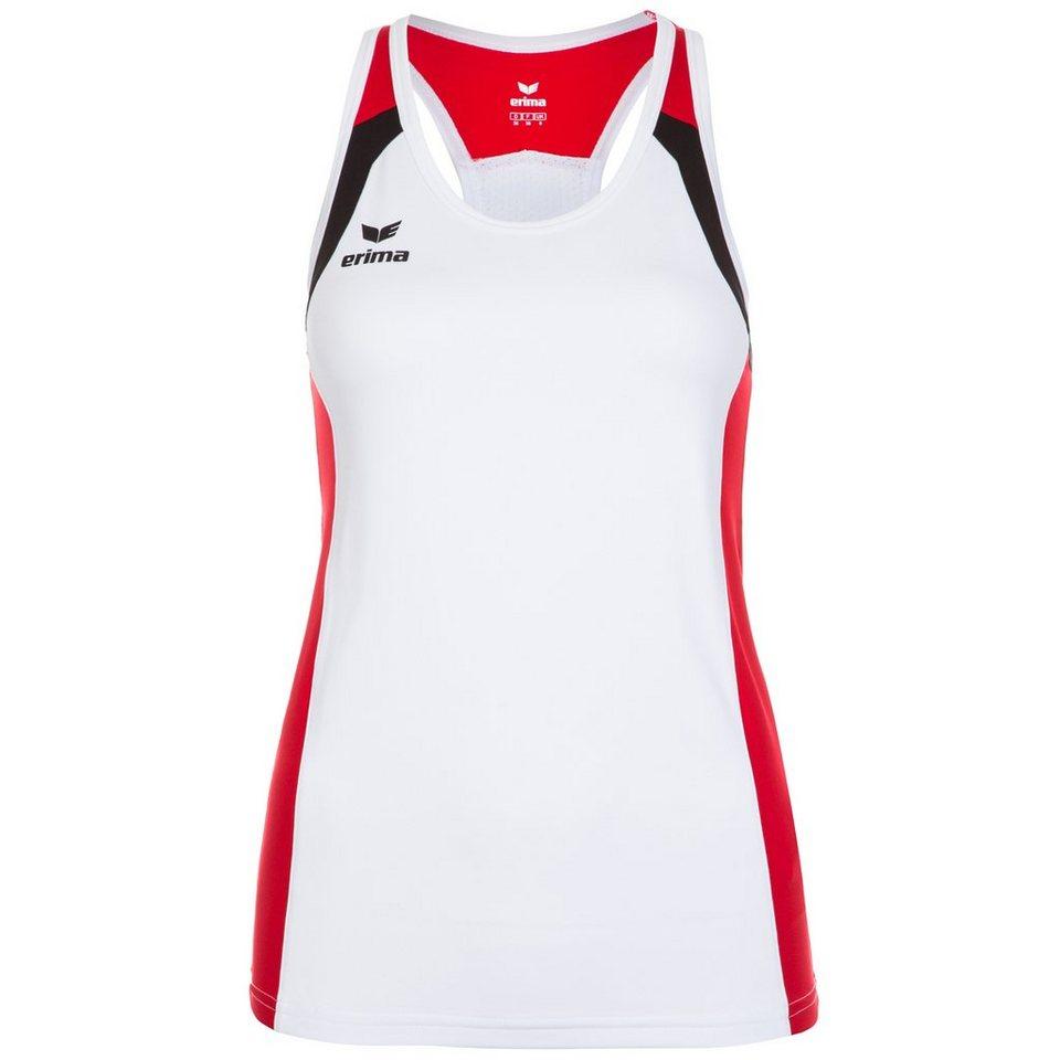 ERIMA Razor 2.0 Trainingstank Damen in weiß / rot / schwarz
