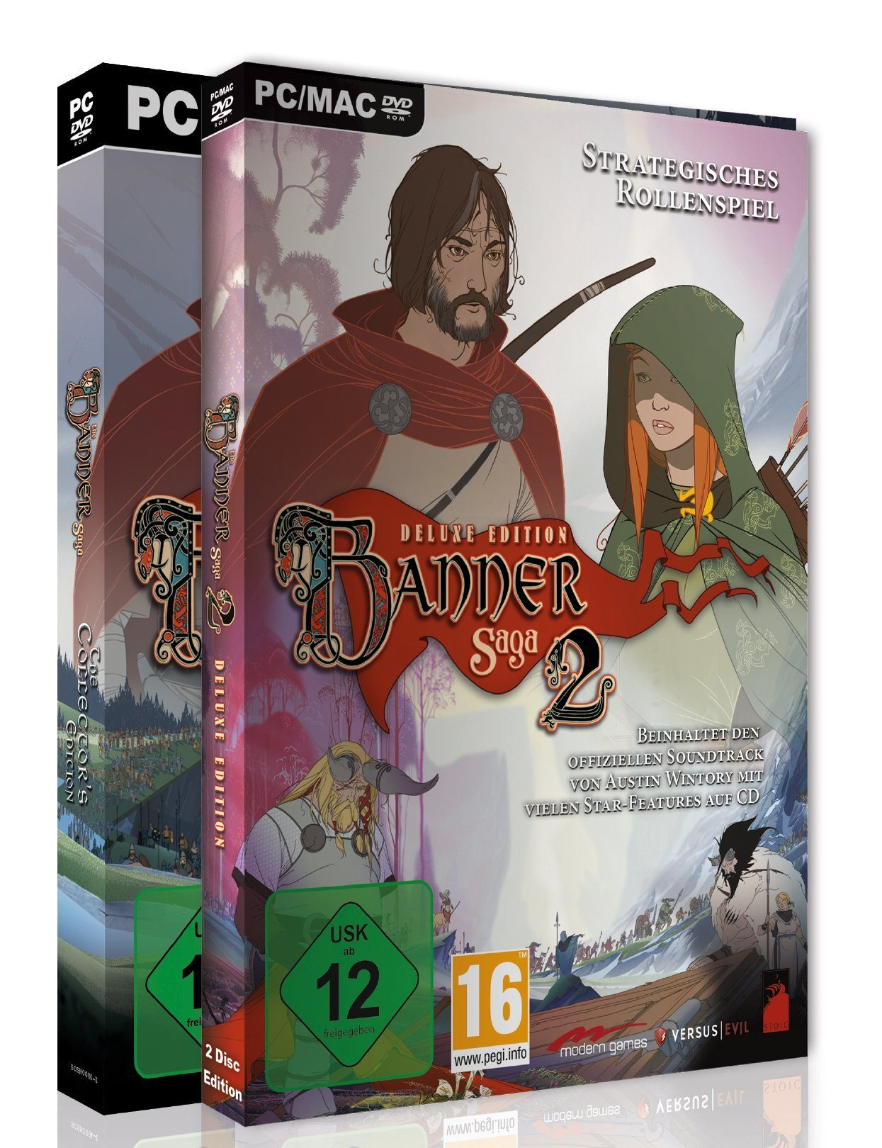 Koch Media The Banner Saga 2 Collectors Edition inklusive Banner Saga 1 »(PC)«