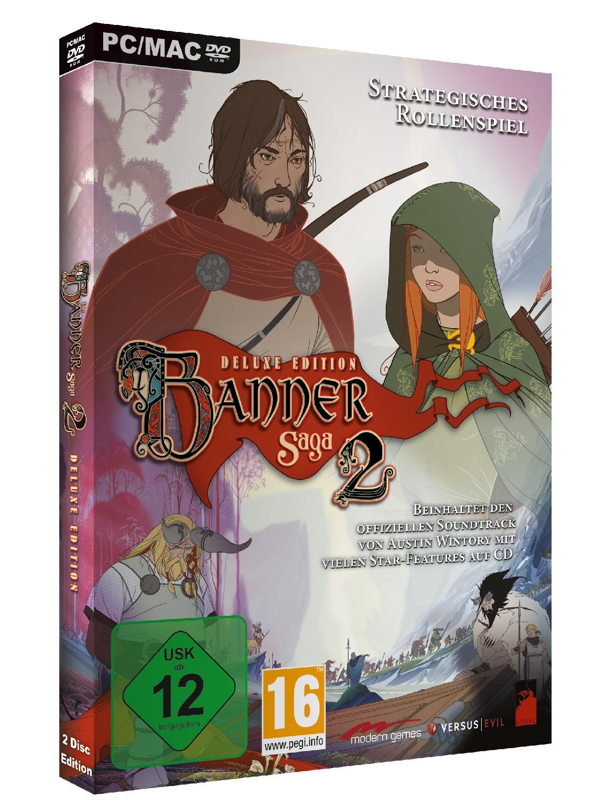 Koch Media The Banner Saga 2 Deluxe Edition »PC«