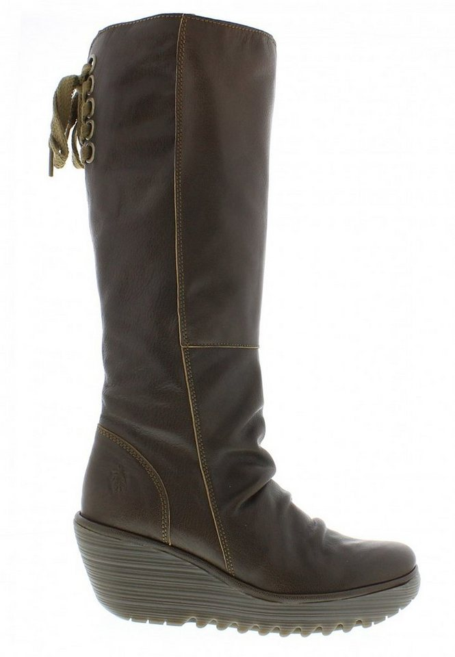 FLY LONDON Klassischer Stiefel »Yust mousse« in olive