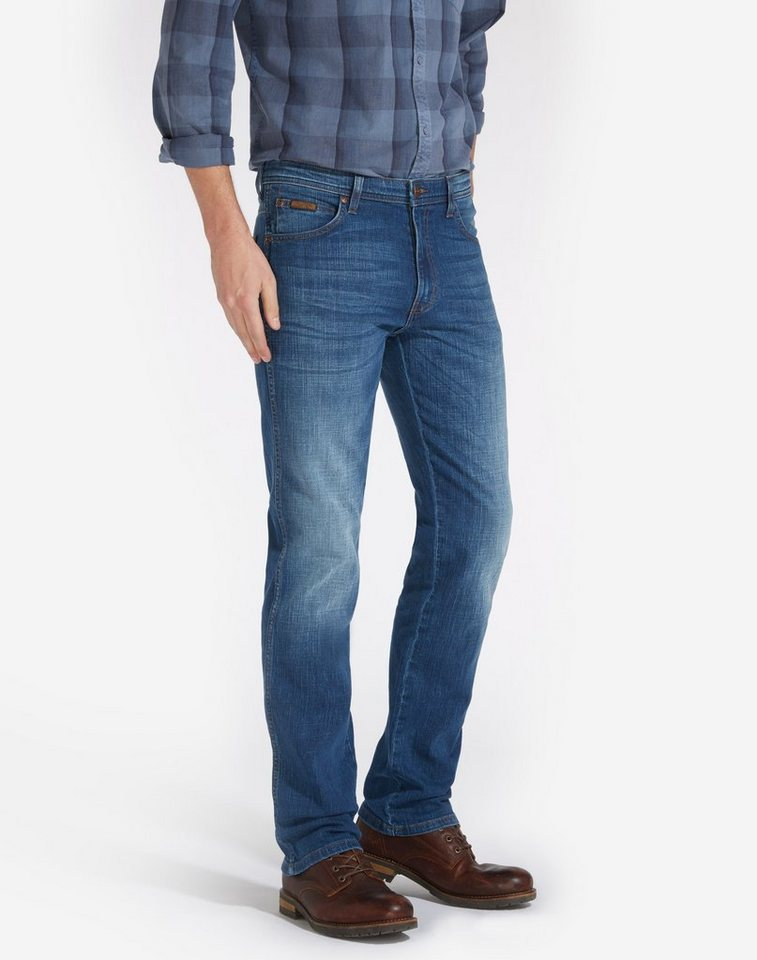 Wrangler Jeans »Arizona Stretch« in Blue Brick