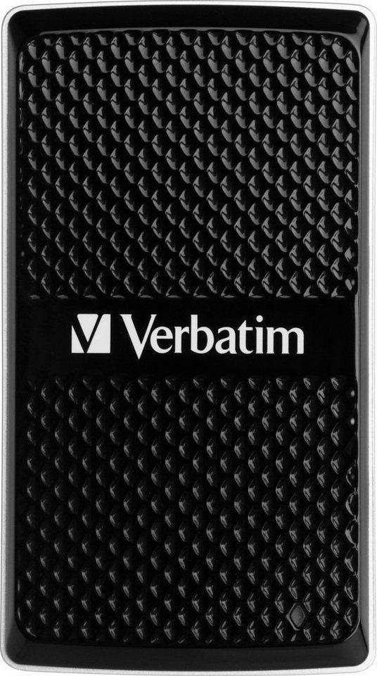 Verbatim SSD 128GB, USB 3.0, 4.57cm (1.8''), extern in black