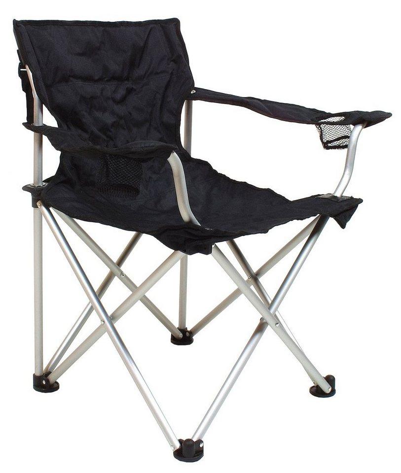 Relags Camping-Stuhl »Travelchair Komfort« in schwarz