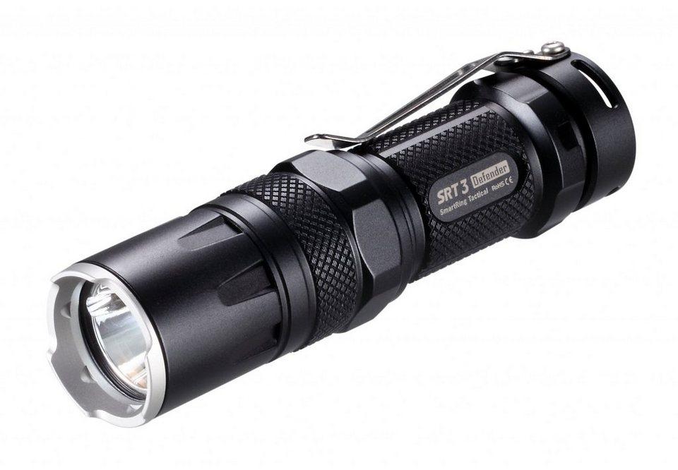 NITECORE Camping-Beleuchtung »LED SRT 3 Defender Taschenlampe« in schwarz