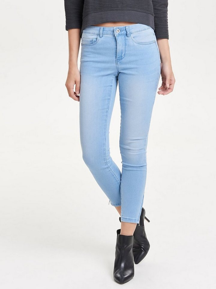 Only Royal reg ankle Skinny Fit Jeans in Light Blue Denim