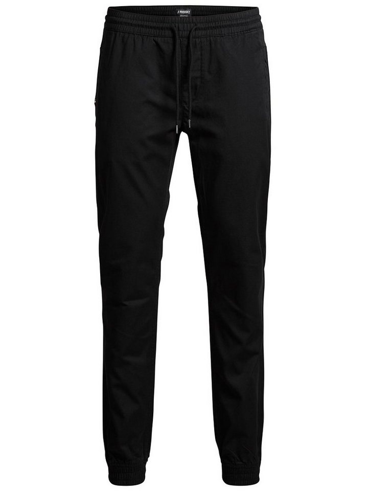 Jack & Jones Klassische Chino in Black