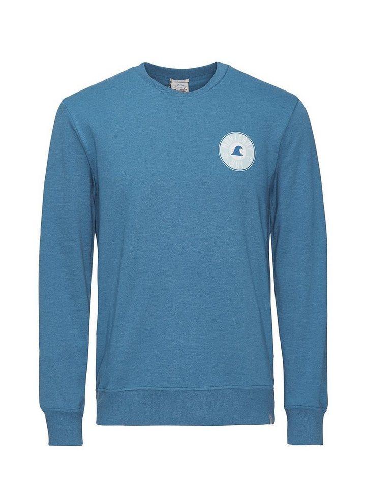 Jack & Jones Lässiges Sweatshirt in Mykonos Blue
