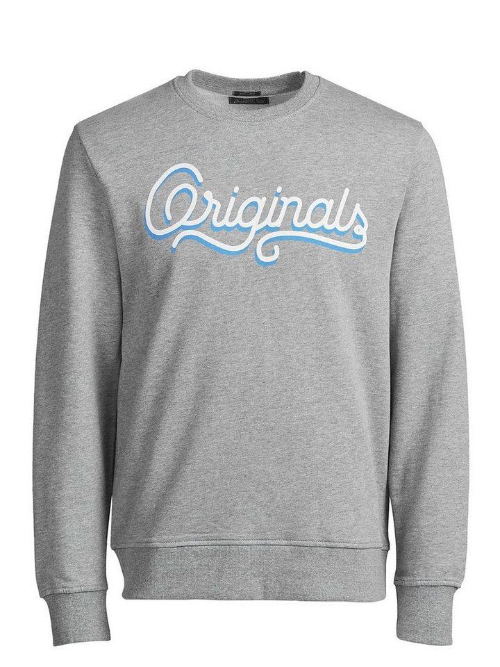 Jack & Jones Lässiges Sweatshirt in Light Grey Melange