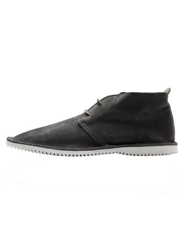 Selected Wildleder- Schuhe in Grey