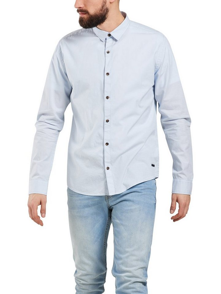 ONLY & SONS Gestreiftes Langarmhemd in Cashmere Blue
