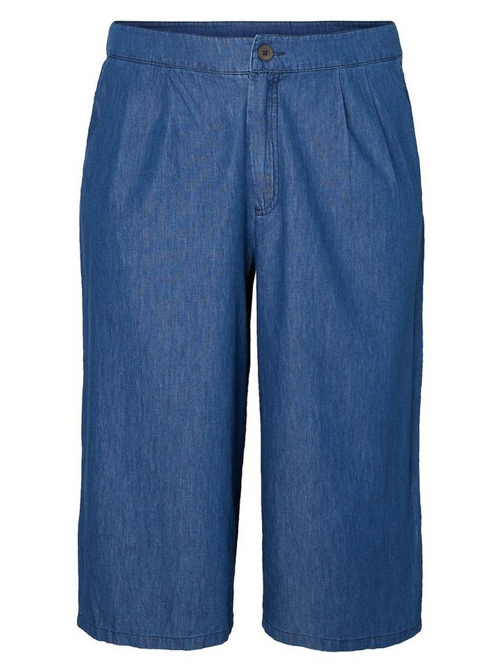 JUNAROSE Culottes- Hose in Medium Blue Denim