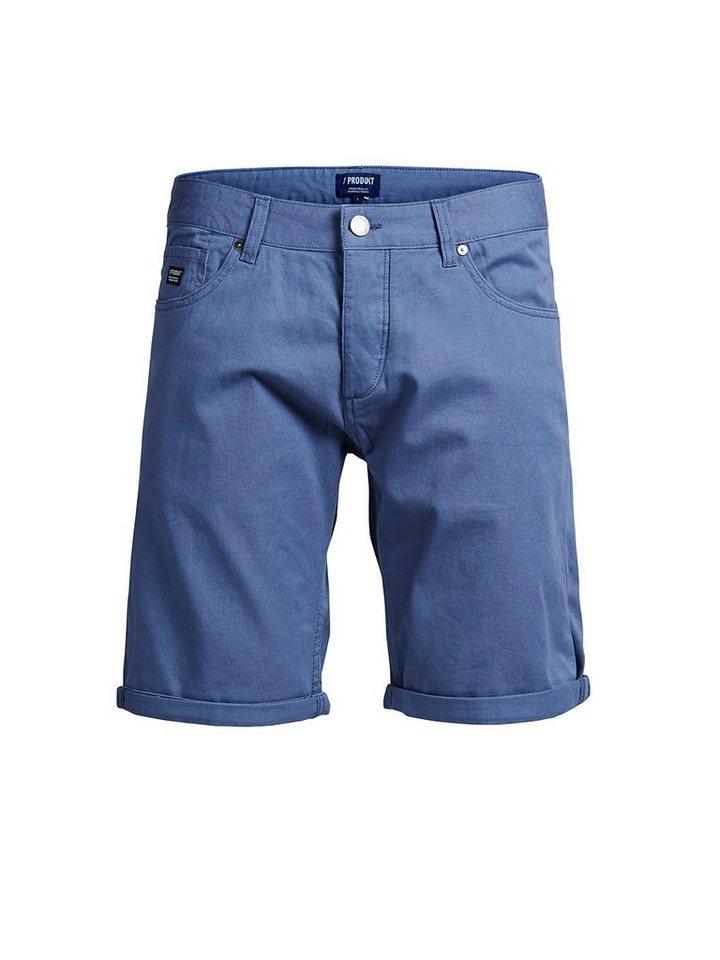Jack & Jones Klassische Shorts in Bijou Blue
