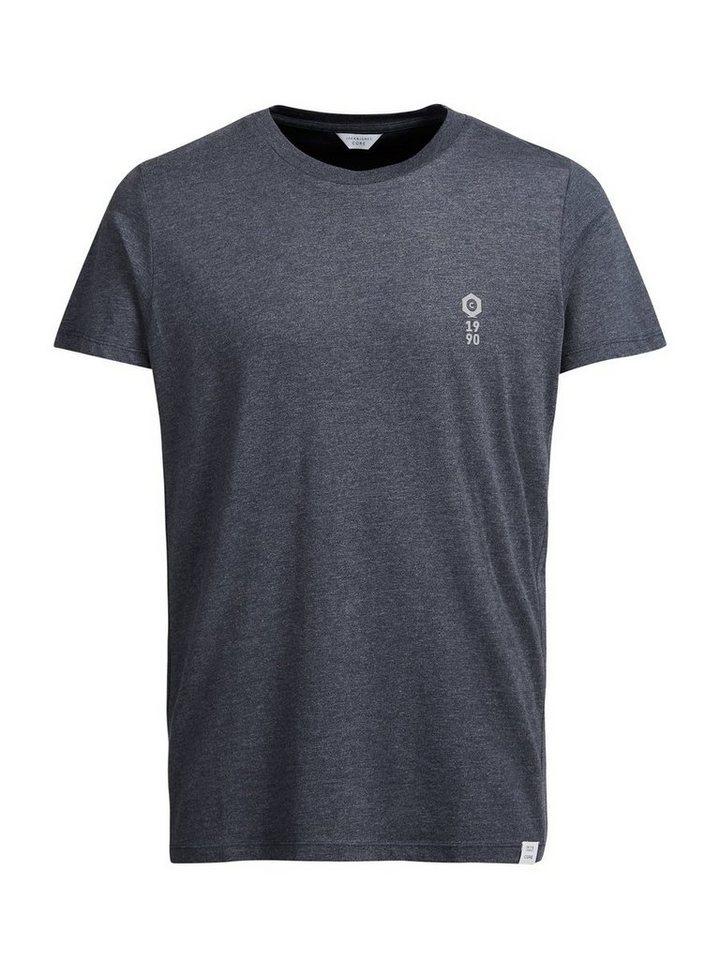 Jack & Jones Oversize-Grafik- T-Shirt in Navy Blazer