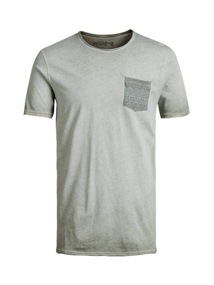 Jack & Jones Special-Dye T-Shirt in Green Bay