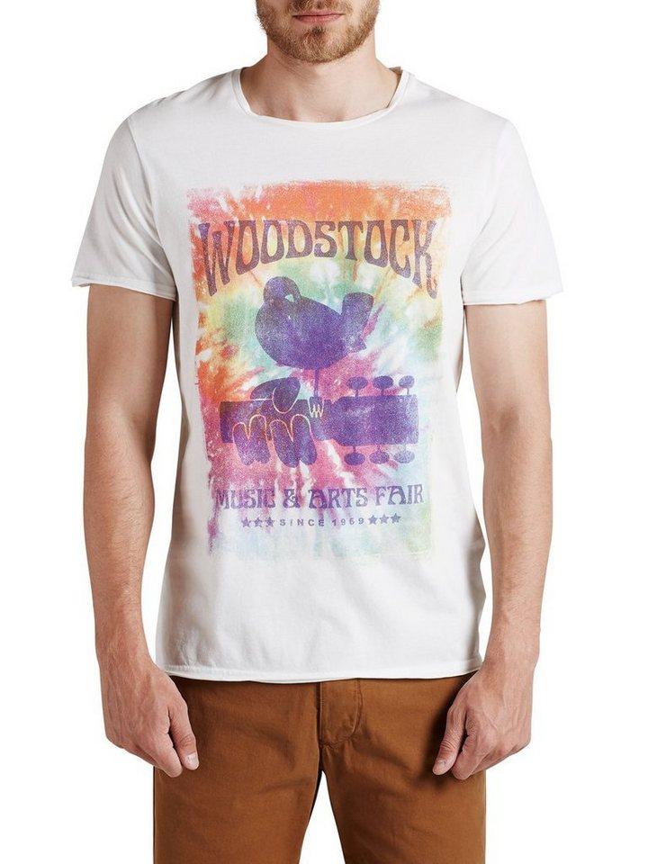 Jack & Jones Grafik- T-Shirt in Cloud Dancer