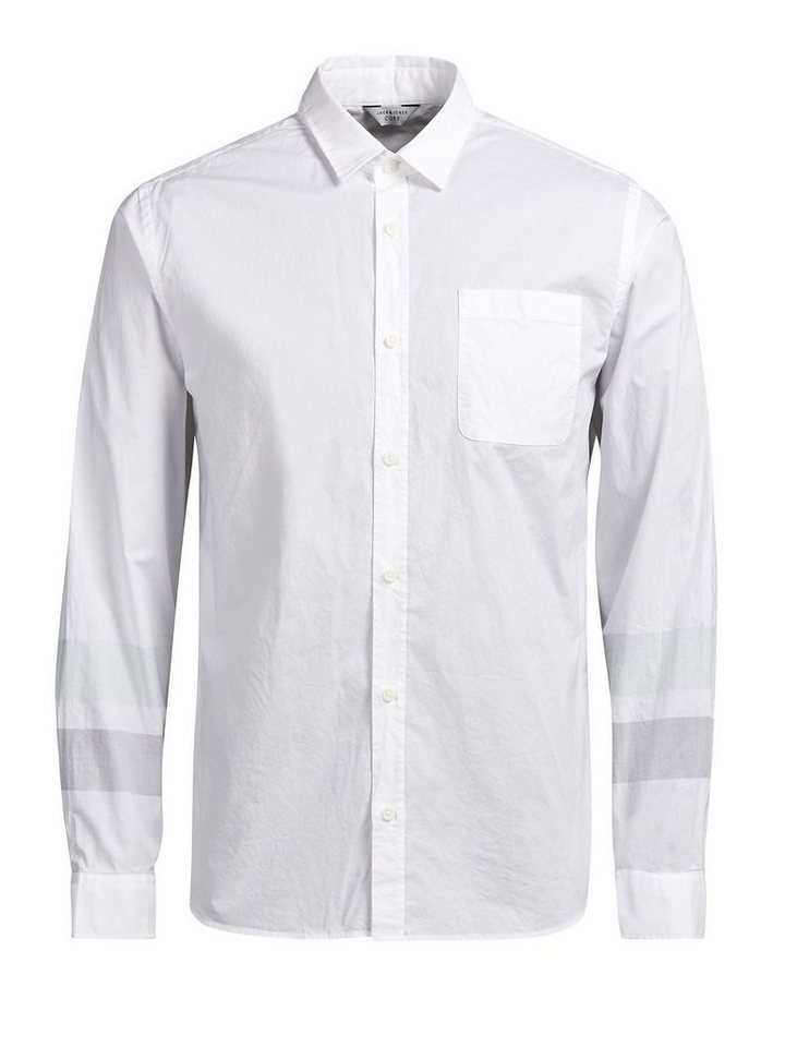 Jack & Jones Urbanes, formelles Freizeithemd in White