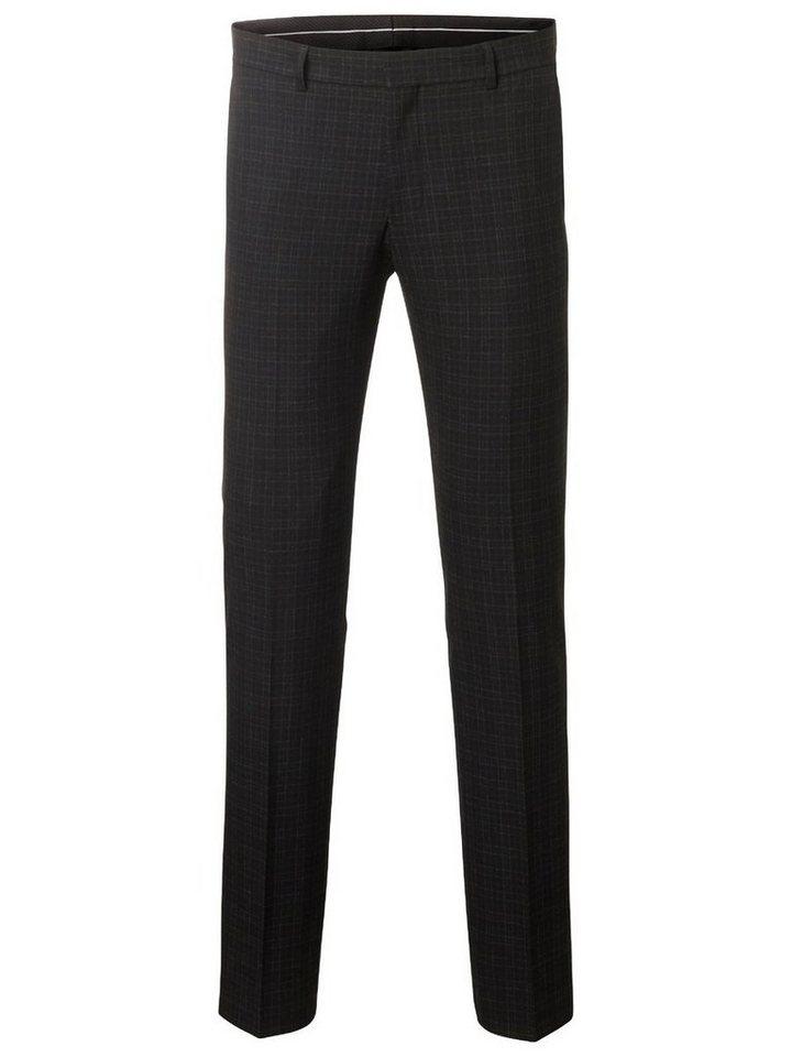 Selected Skinny Fit- Anzughose in Black