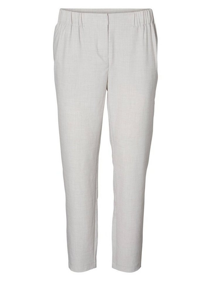 Vero Moda Knöchel- Hose in Light Grey Melange