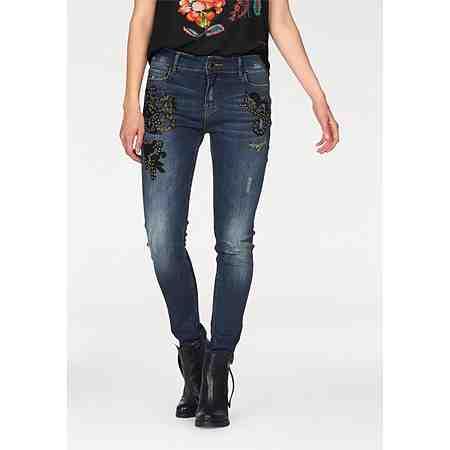 Desigual 5-Pocket-Jeans mit Applikation