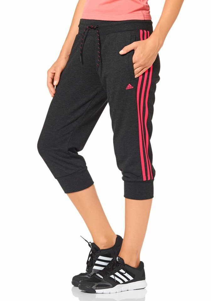 adidas performance essentials 3s 3 4 pant 3 4 pumphose. Black Bedroom Furniture Sets. Home Design Ideas