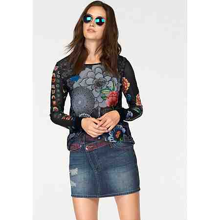Desigual Shirtbluse »Regina« mit Alloverprint