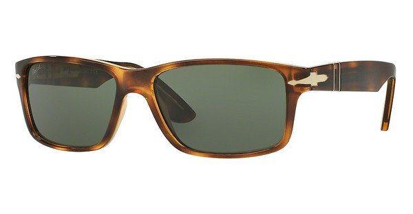 Persol Herren Sonnenbrille » PO3154S« in 104331 - braun/grün