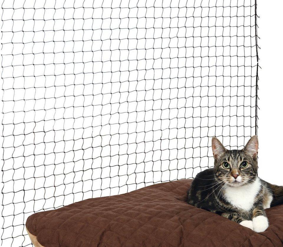 Schutznetz, BxL: 4x3 m, schwarz in schwarz