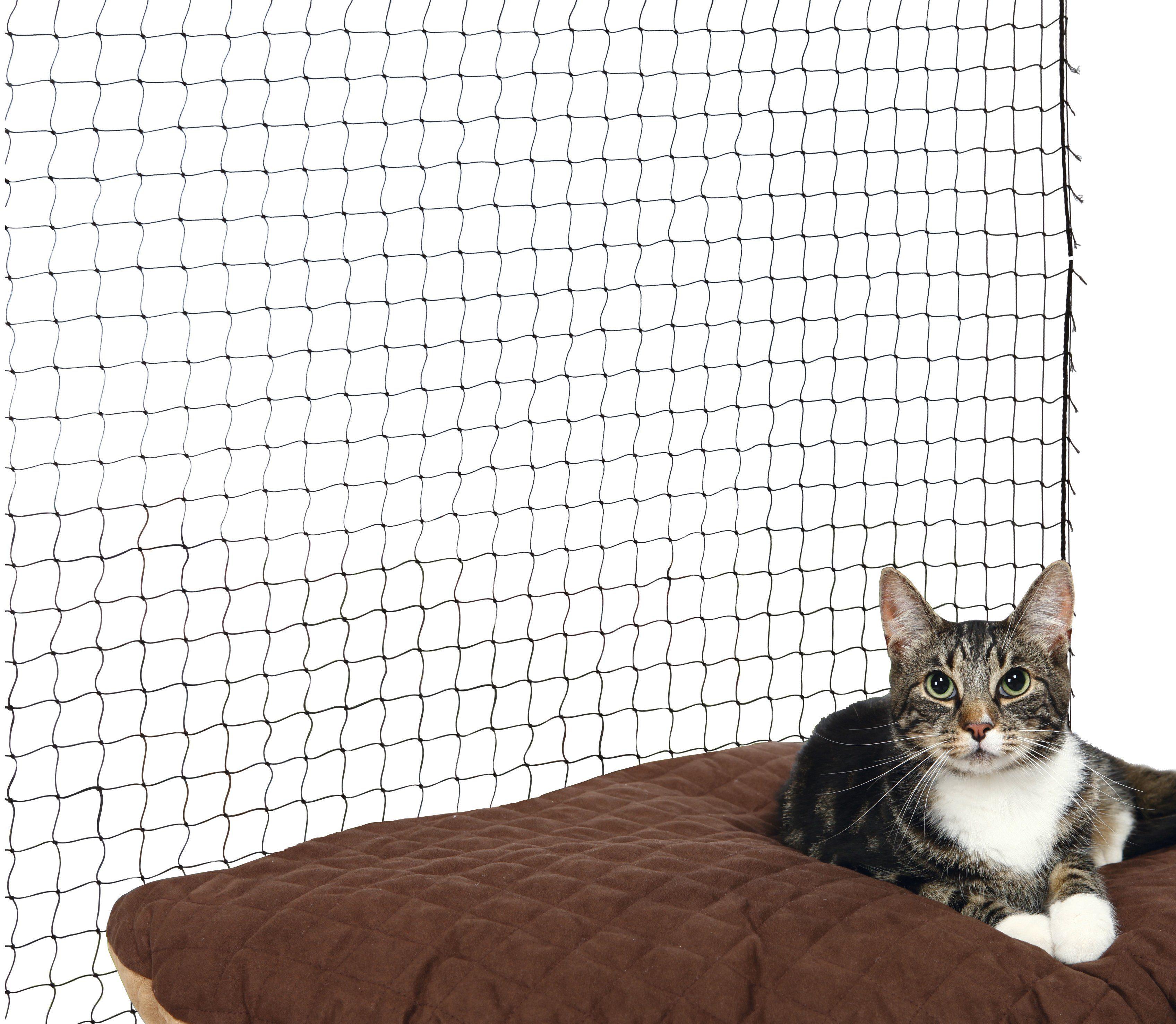 Schutznetz, BxL: 4x3 m, schwarz
